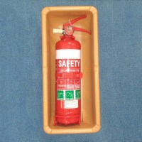 Fire Extinguisher Holder, 3mm ABS Plastic, Maple | Caravan ...