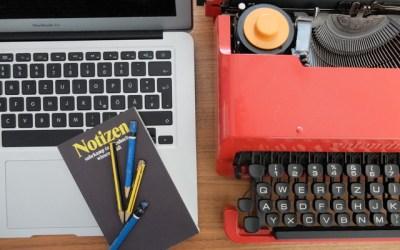 Why Kreatives Schreiben (Teil 1)