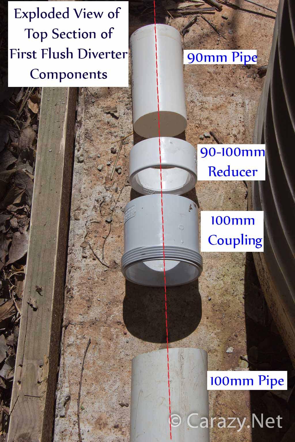 Water Tank Install and DIY First Flush Diverter  Brisbane