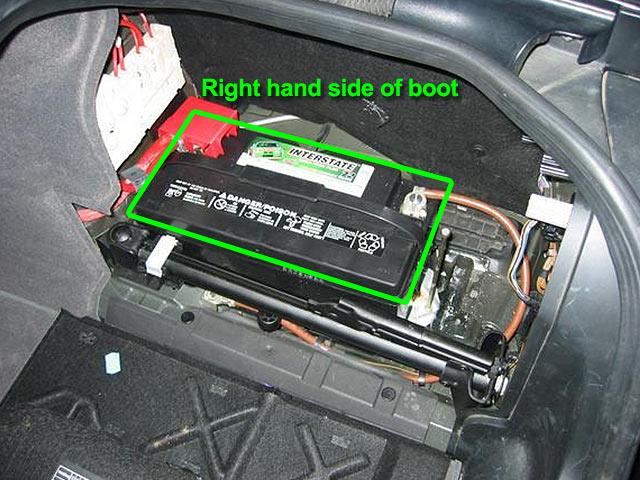Bmw 5 Series Car Battery Location  Car Batteries