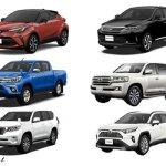 トヨタで現在製造中のSUV6台を比較!今買うべき車はこれ!