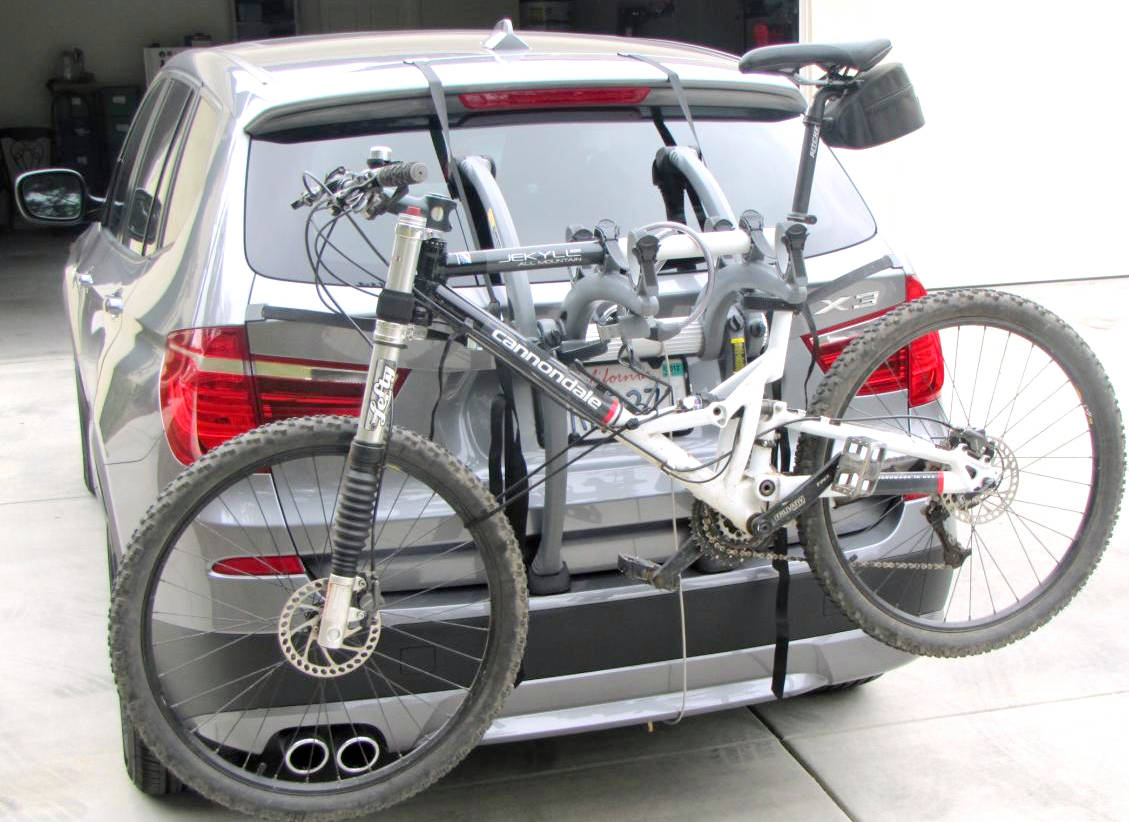 Bmw X3 Bike Rack Modern Arc Based Design For 2 Or 3 Bikes
