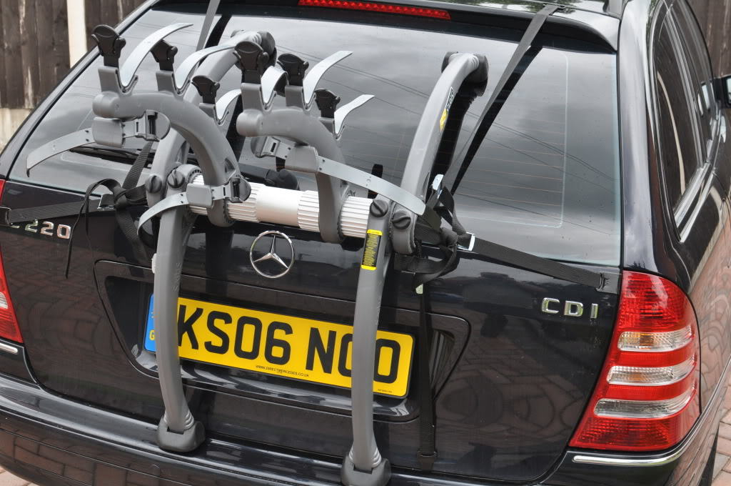 mercedes  class estate bike rack car bike racks bike carriers
