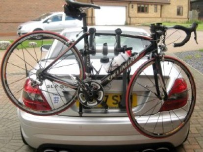 Mercedes SLK Bicycle Carrier
