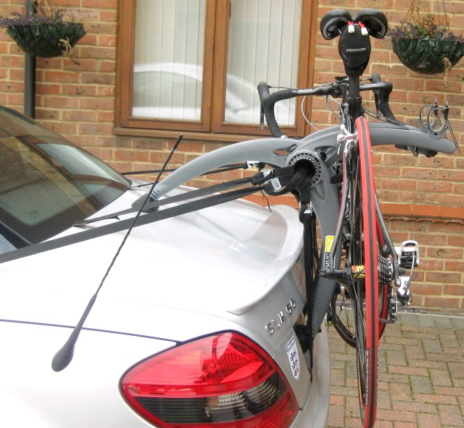 Mercedes slk bike rack modern arc based design for Mercedes benz bicycle rack