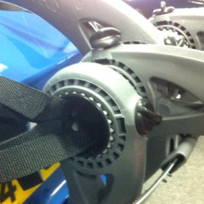 Audi A1 Bike Rack Spline Detail