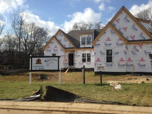 Located on a quite road in Kings' Chapel community, Carbine & Associates will complete the Operation FINALLY HOME build for the Van Dorston family in spring of 2014.
