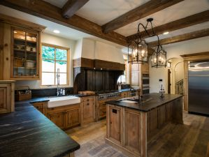 Incredible wooden kitche, Carbine and Associates