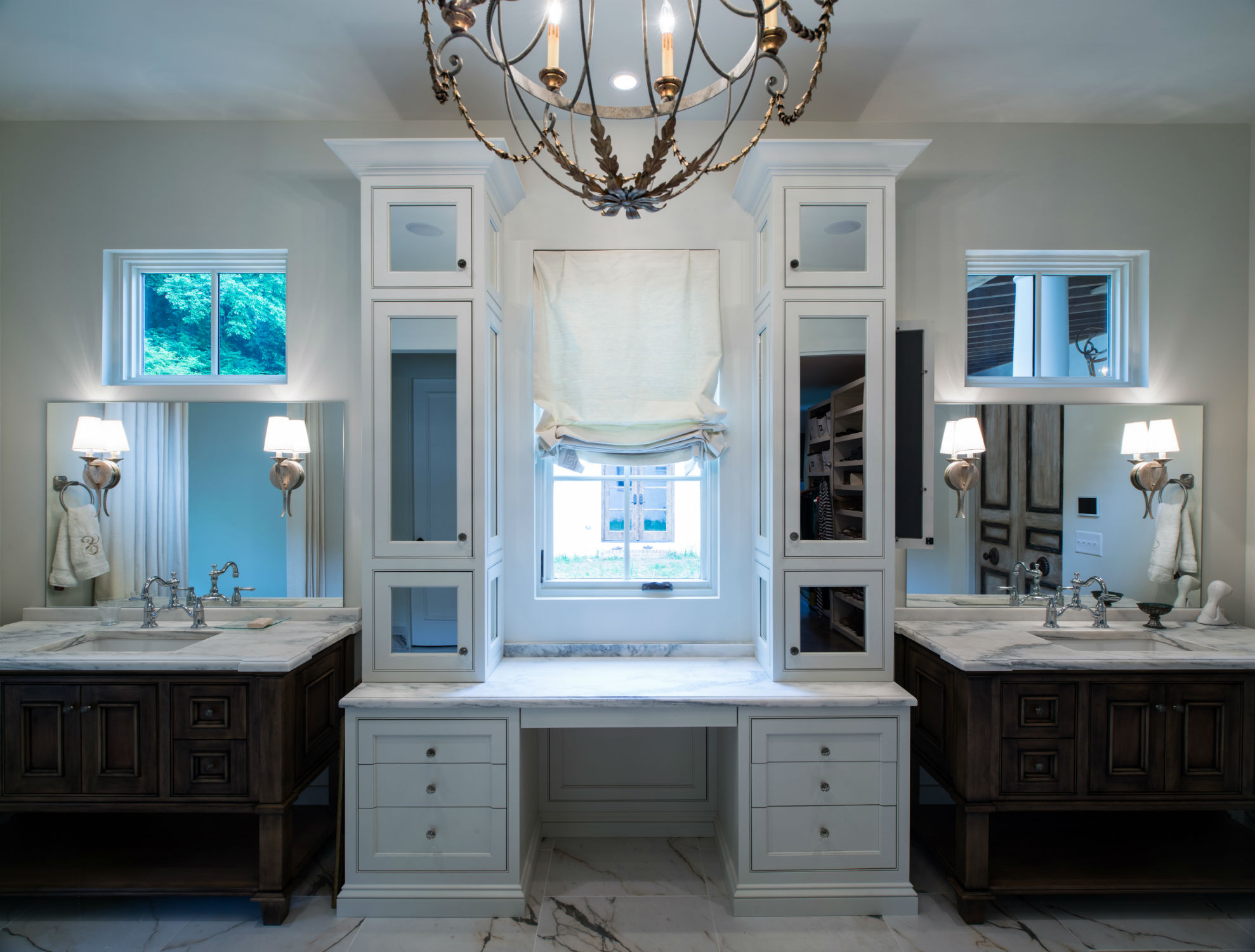 Strategically Placing Mirrors in Your Custom Home, Carbine & Associates, Franklin, TN