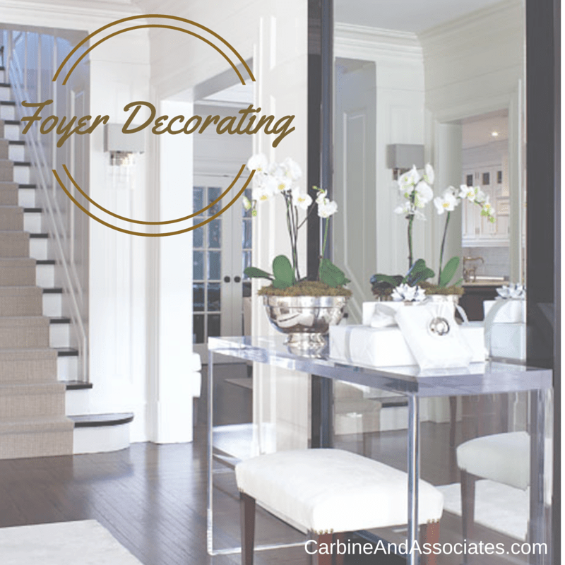 3 Hot Foyer Decorating Tips from the Pros