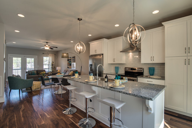 Nashville Townhome, Open Floor Plan, Kenrow Corner, The Nations, Carbine & Associates
