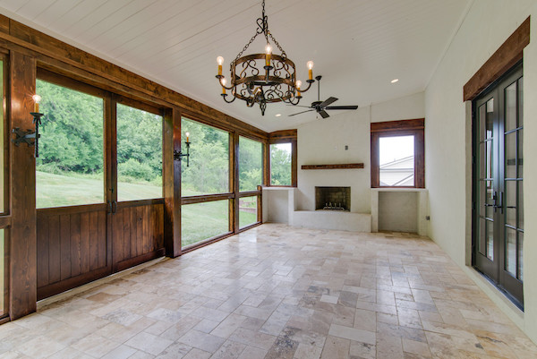 Sliding Barn Doors, Contemporary Tuscan Home, Carbine & Assoc., Franklin, TNjpg