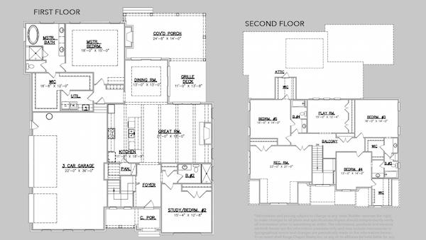 Traditional Home Inspiring Building Details, Floor Plan, Kings' Chapel 414, Carbine & Assoc.