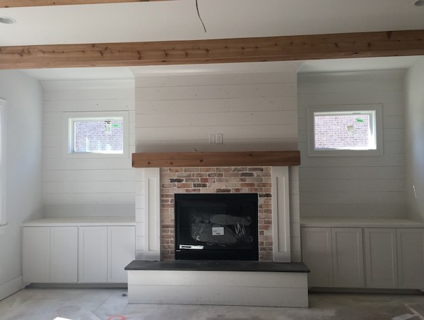 Traditional Home Inspiring Building Details, Shiplap Fireplace, Carbine & Assoc..JPG
