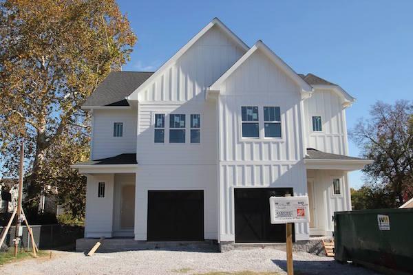 WeHo Duplex Exterior Martin Street Nashville TN Carbine & Associates