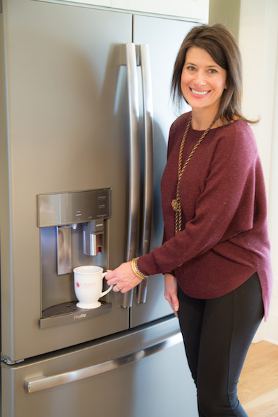 GE Profile Refrigerator Built-In Keurig, Lucy Farmer, House For Hope