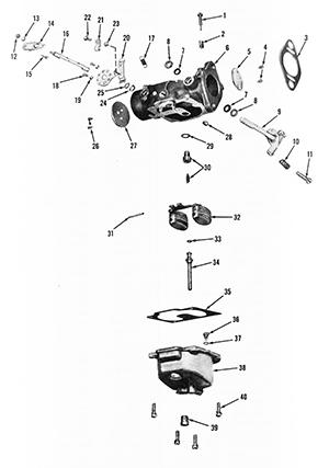 Zenith 13600 Carburetor Kit, FLoat and Manual
