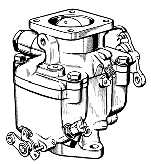 Zenith 10929 Carburetor Kit, FLoat and Manual