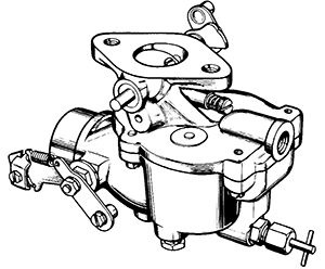 Zenith 12303 Carburetor Kit, FLoat and Manual
