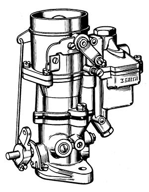 Zenith 14275 Carburetor Kit, FLoat and Manual