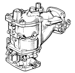 Zenith 12312 Carburetor Kit, FLoat and Manual