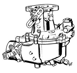 Zenith 8963 Carburetor Kit, FLoat and Manual