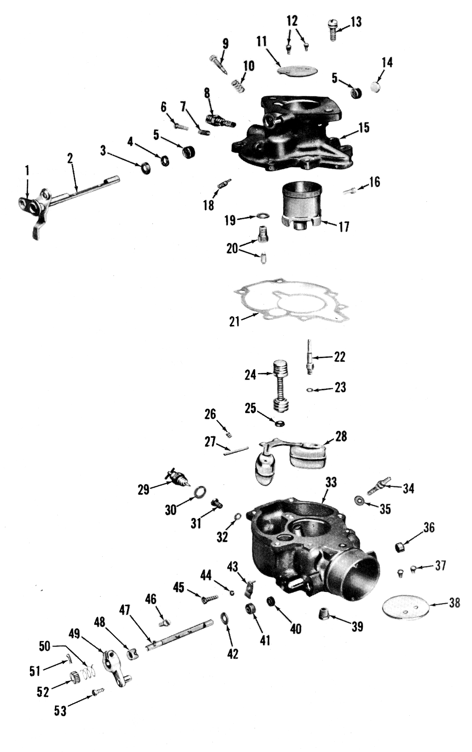 Zenith 13429 Carburetor Kit, FLoat and Manual