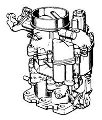 CK933 Carburetor Repair Kit for Zenith Model 28ADA Carburetors