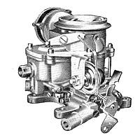CK539 carburetor kit for Carter BBD