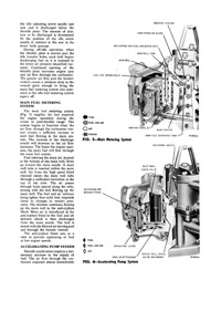 Carburetor kits, parts and manuals