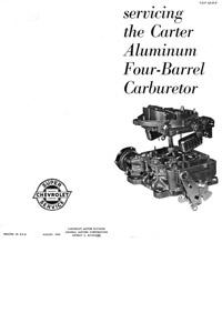 CK4553 1957-1965 Chevrolet Carter AFB Carburetor Rebuild Kit