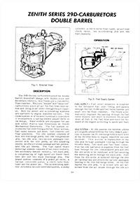 CK906 Carburetor Repair Kit for Zenith Model 29D Carburetors