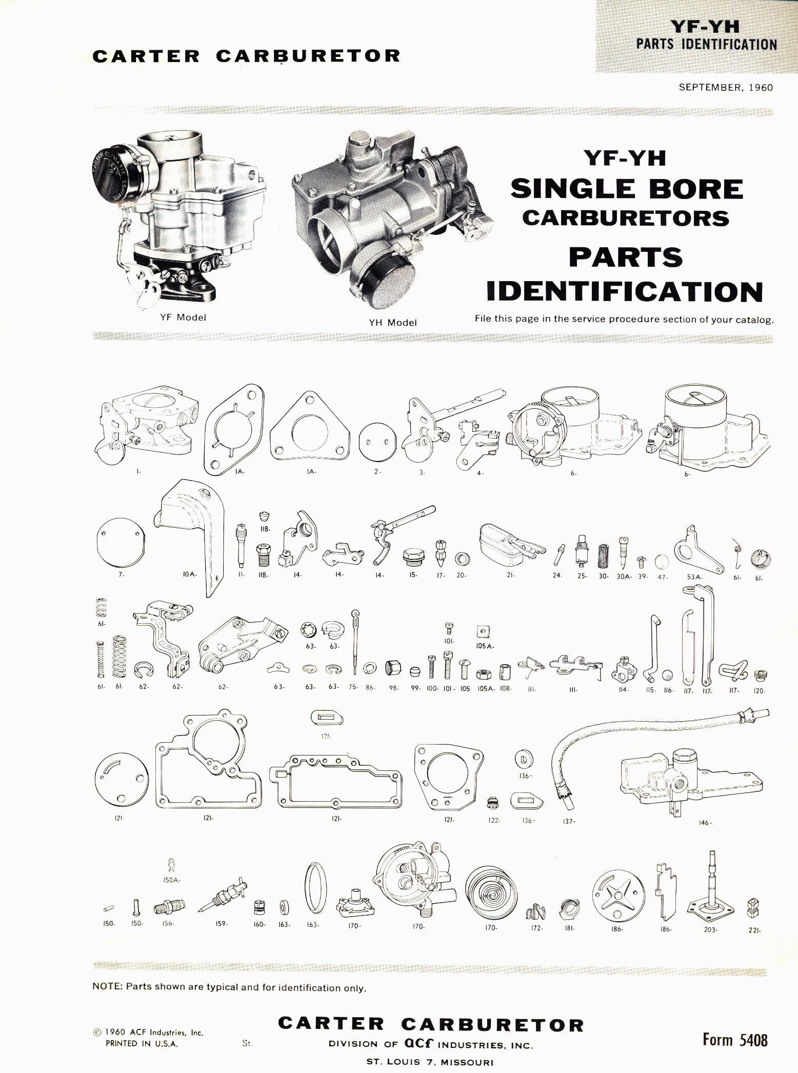 Willys Wiring Diagram Carter Y Series Carbs