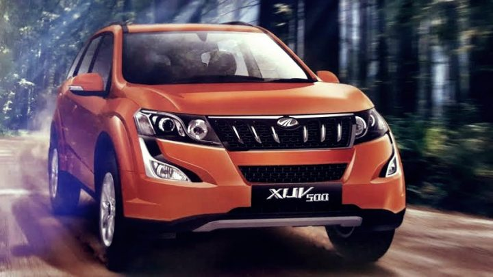 New Mahindra XUV500 facelift images launch details