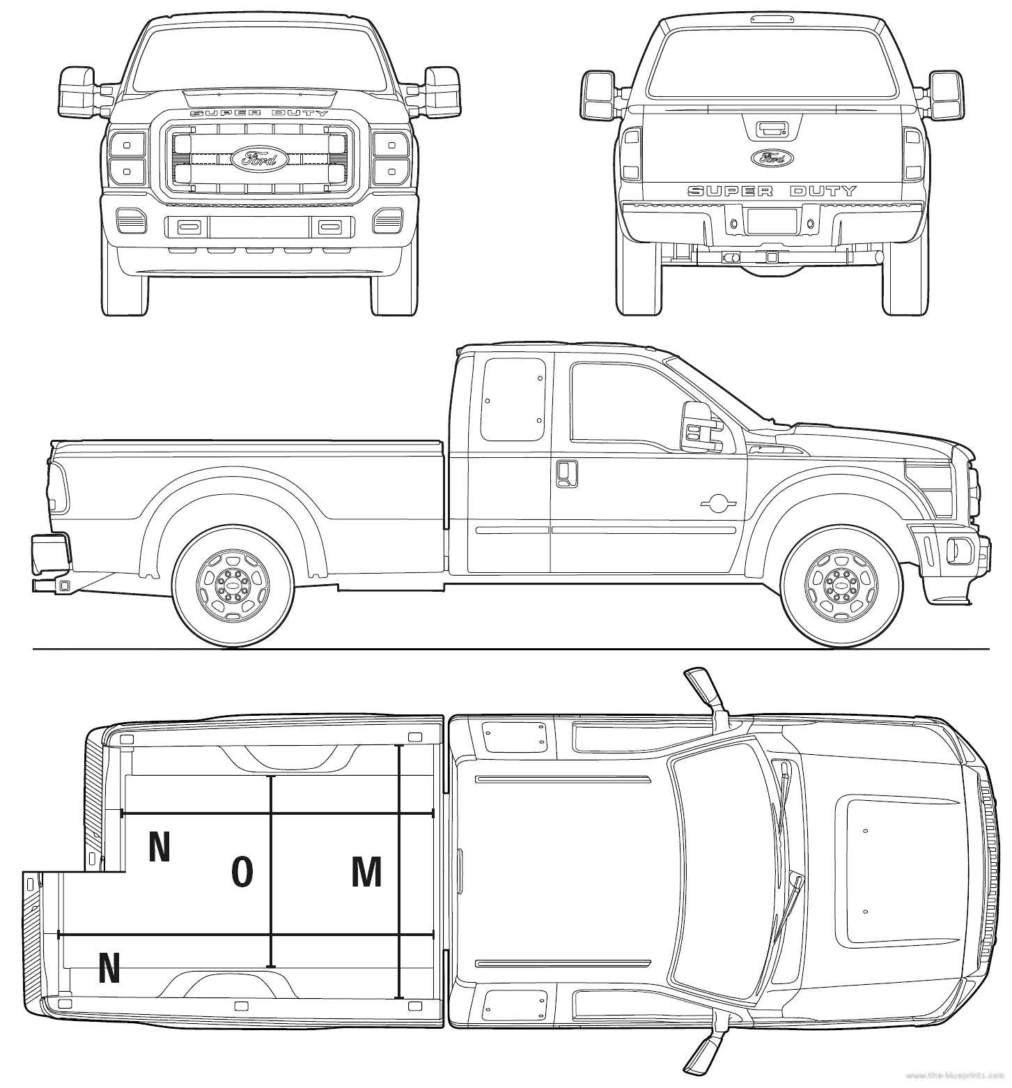 ford extended cab