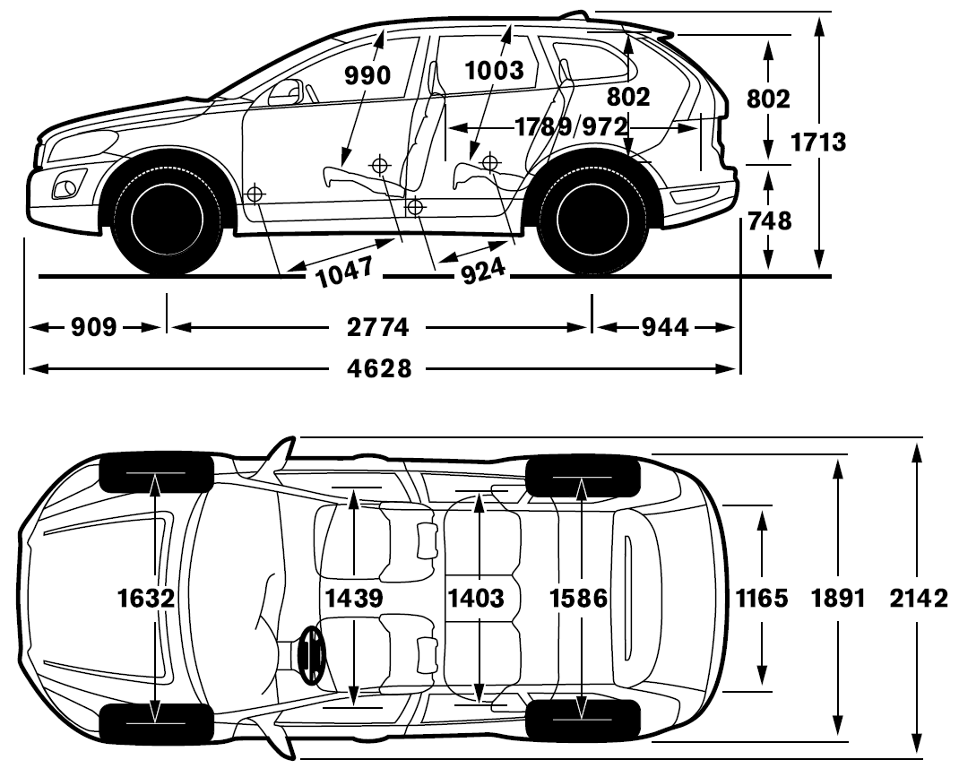 Dimension Volvo Xc60. 2017 volvo xc60 dimensions car image