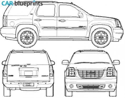 Gmc Sierra Drawing Sketch Coloring Page