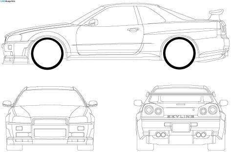 Nissan 240sx Skyline Engine, Nissan, Free Engine Image For