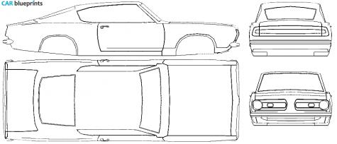 1968 Plymouth Satellite Fuse Box. Plymouth. Auto Fuse Box