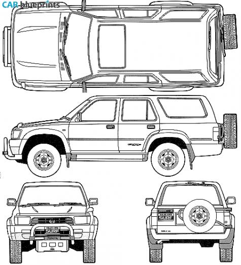 toyota 4runner wiring diagram on 1991 toyota 4runner wiring diagram
