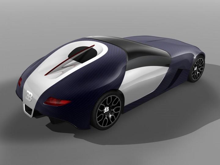 Bugatti Altess Concept  Car Body Design