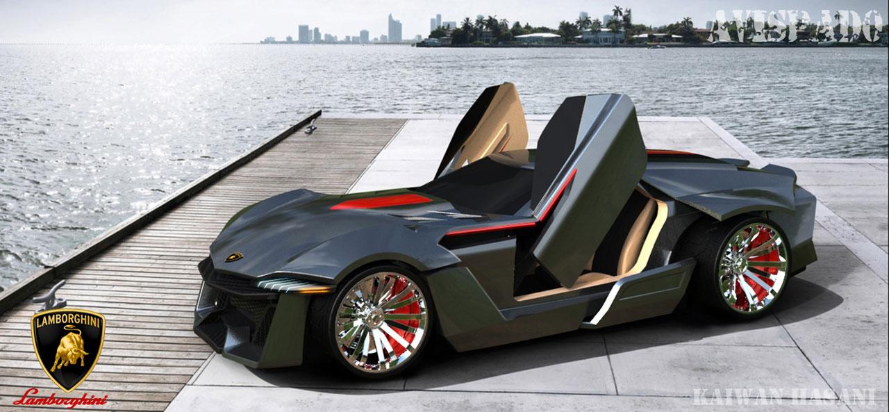 Lamborghini Avispado Concept  Car Body Design