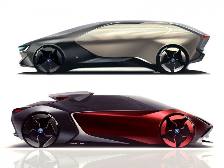 """Art Center Graduate Envisions The Bmw """"i"""" Of The Future"""