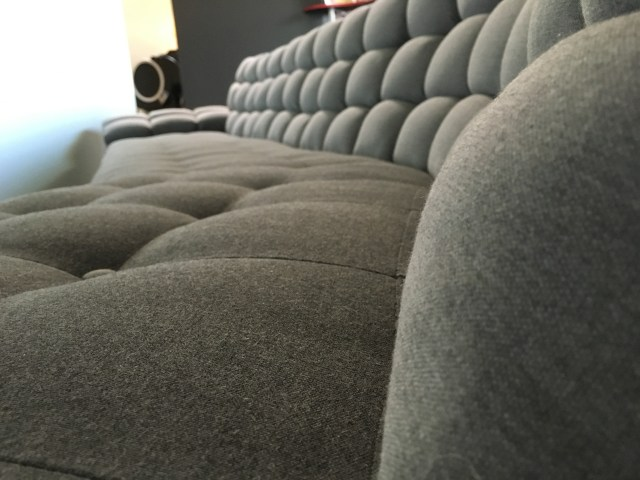 couch lounger detail