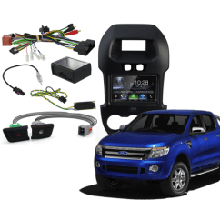 2017 Ford Ranger Spotlight Wiring Diagram Electricity Stereo Upgrades 2011 Carbon Car Systems Px2 Upgrade 2016 Click Here To See Kits