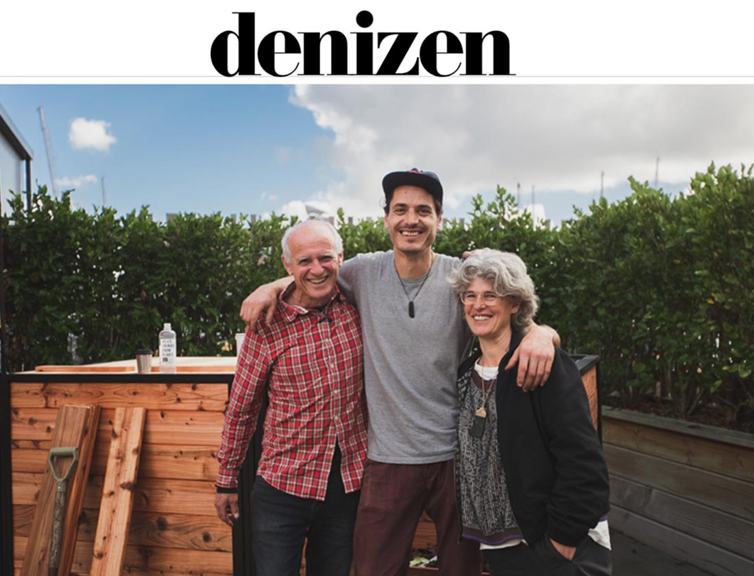 CarbonCycle Compost featured in Denizen
