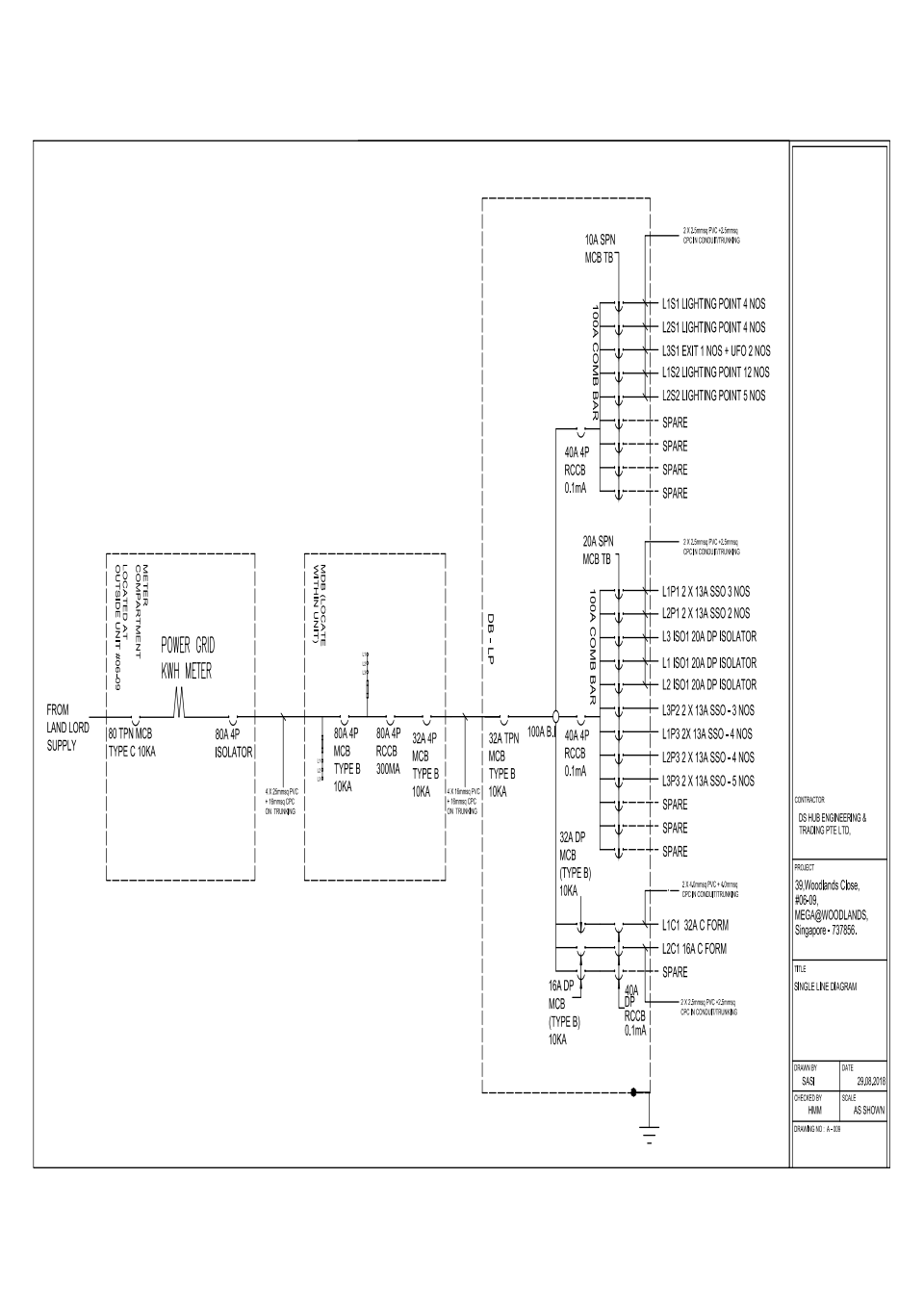 hight resolution of electrical single line diagram