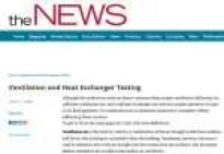 Heat Exchanger Testing ACHRNews