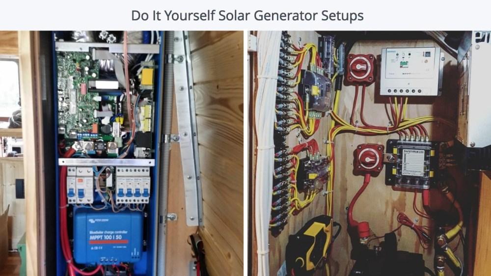 medium resolution of campervan diy solar setup