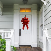 "Big Front Door Bow - 22"" Giant Bow For House - Car Bow Store"